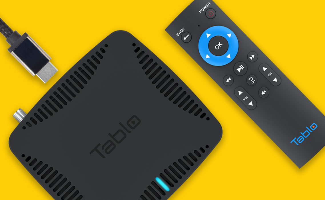 Tablo DUAL HDMI connection
