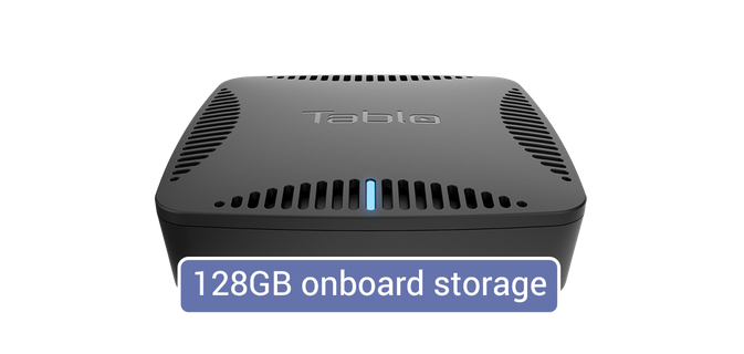 Tablo DUAL 128GB <br> OTA DVR image