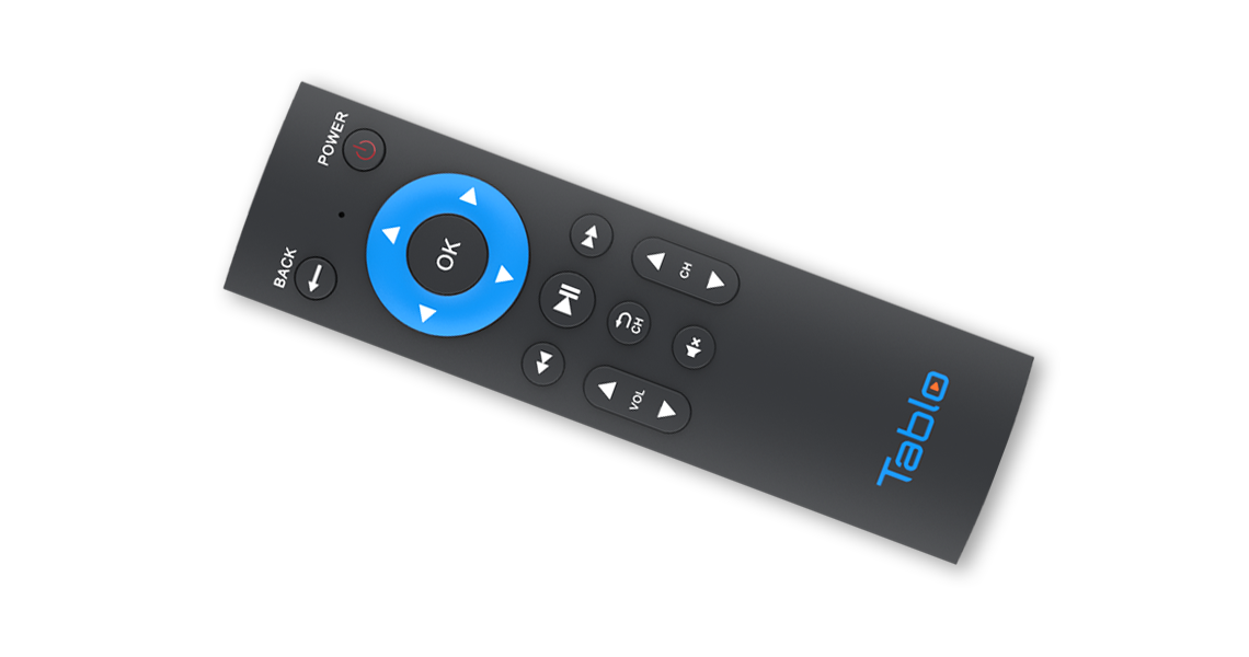 Tablo DUAL HDMI Remote