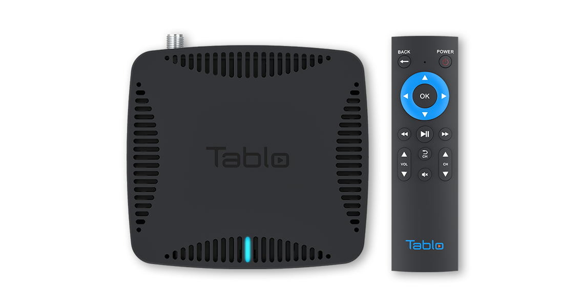 Tablo HDMI Top Remote