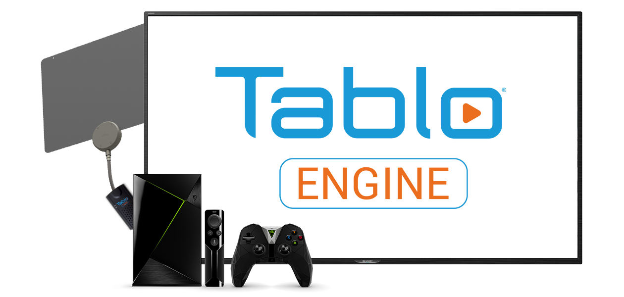 Tablo DVR ENGINE for Nvidia Shield TV | Over The Air (OTA