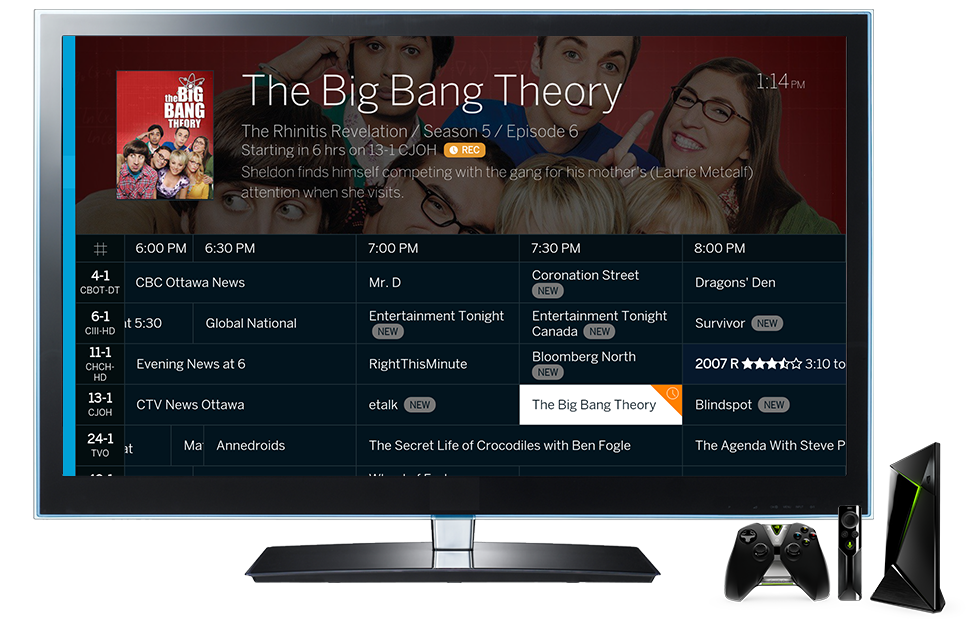 Tablo Android TV Live TV