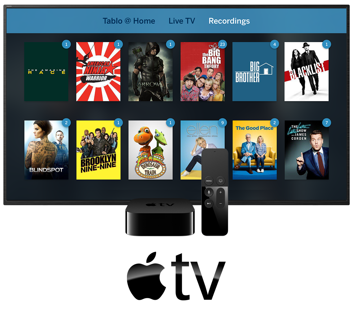 Tablo Apple TV In-Situ