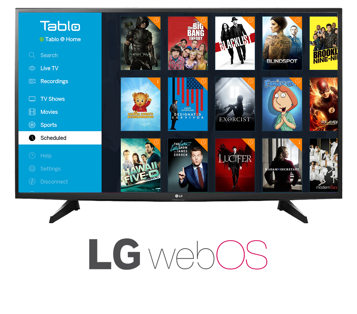 Tablo LG webOS In-Situ