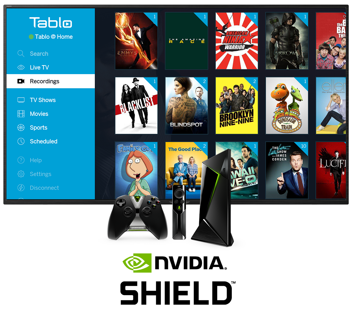 Tablo Nvidia SHIELD In-Situ