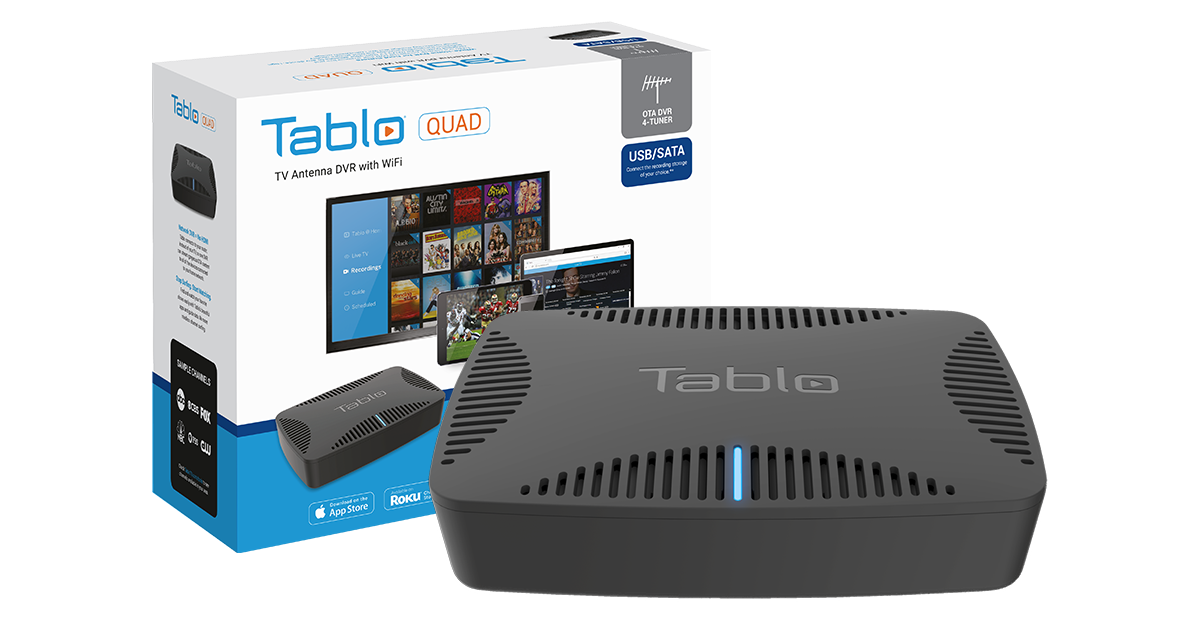 Tablo QUAD Packaging