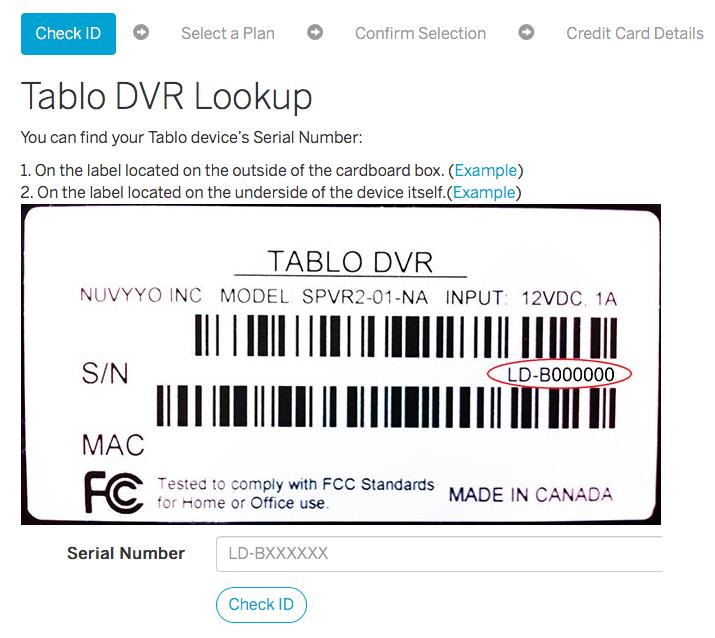 Tablo Guide Data Subscription Store Walkthrough | Over The Air (OTA