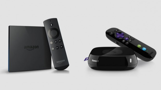 Amazon Fire TV and Roku