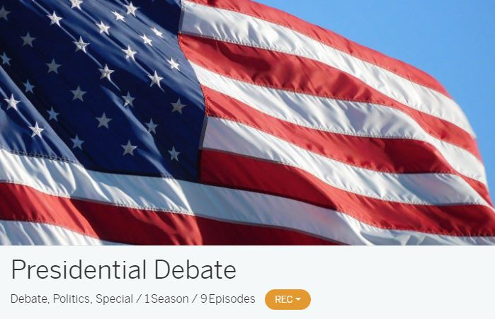 Tablo Presidential Debate