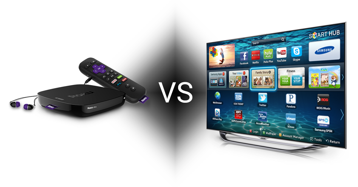 smart tv vs set top box
