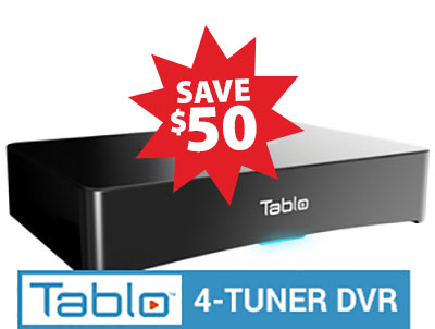 Tablo 4 Tuner $50 off