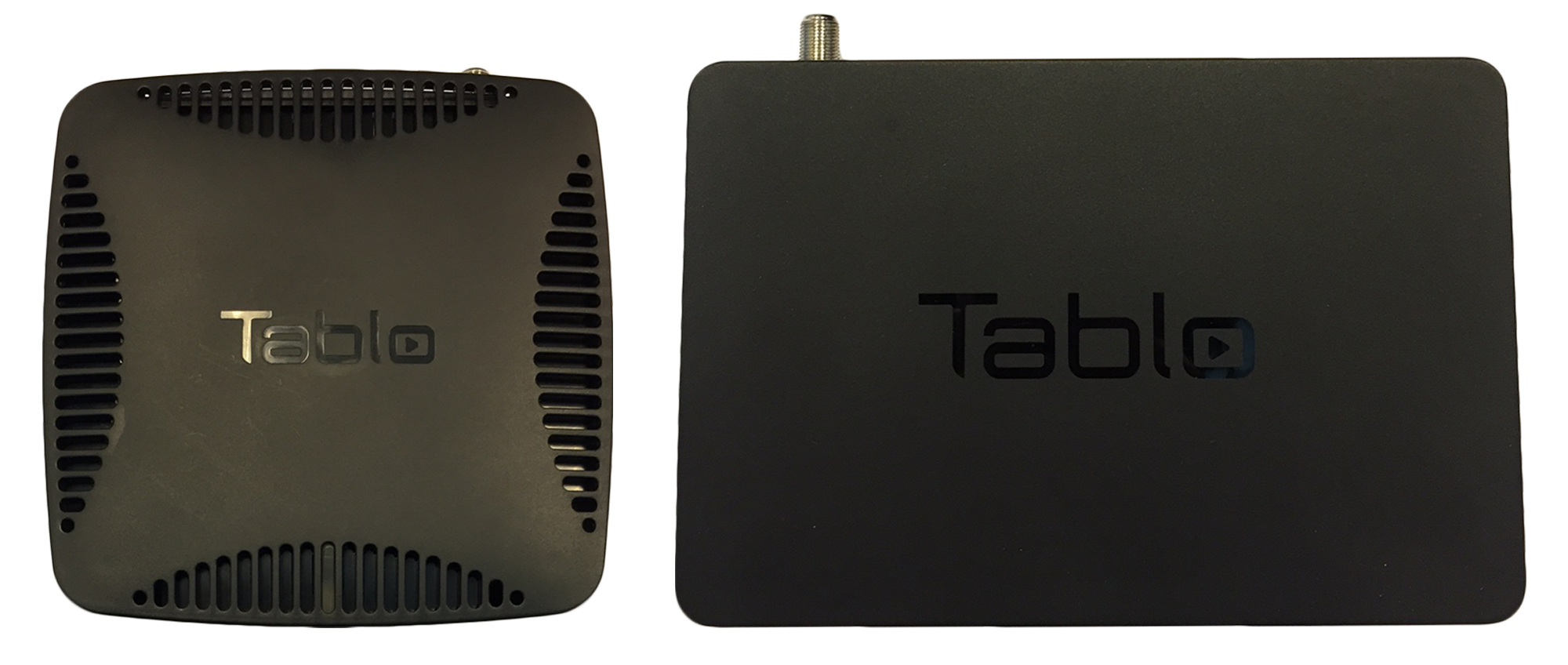 Tablo 2-Tuner vs. Tablo DUAL size