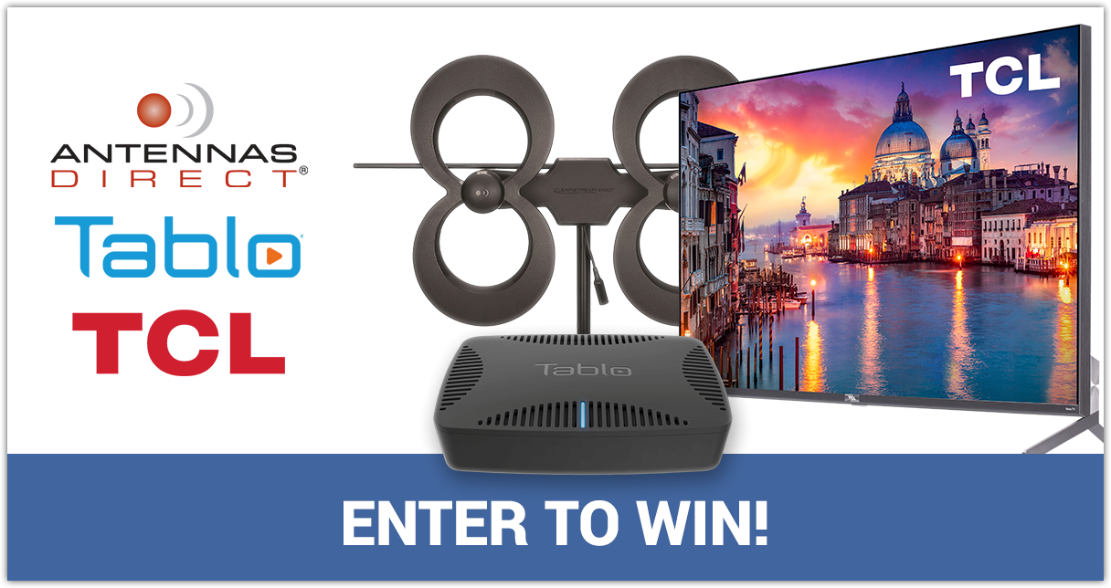 Tablo TCL Antennas Direct Giveaway