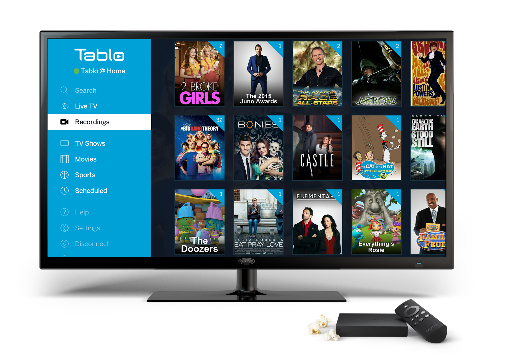 Discover Live Tv And Dvr Shows On Your Amazon Fire Tv Over The Air