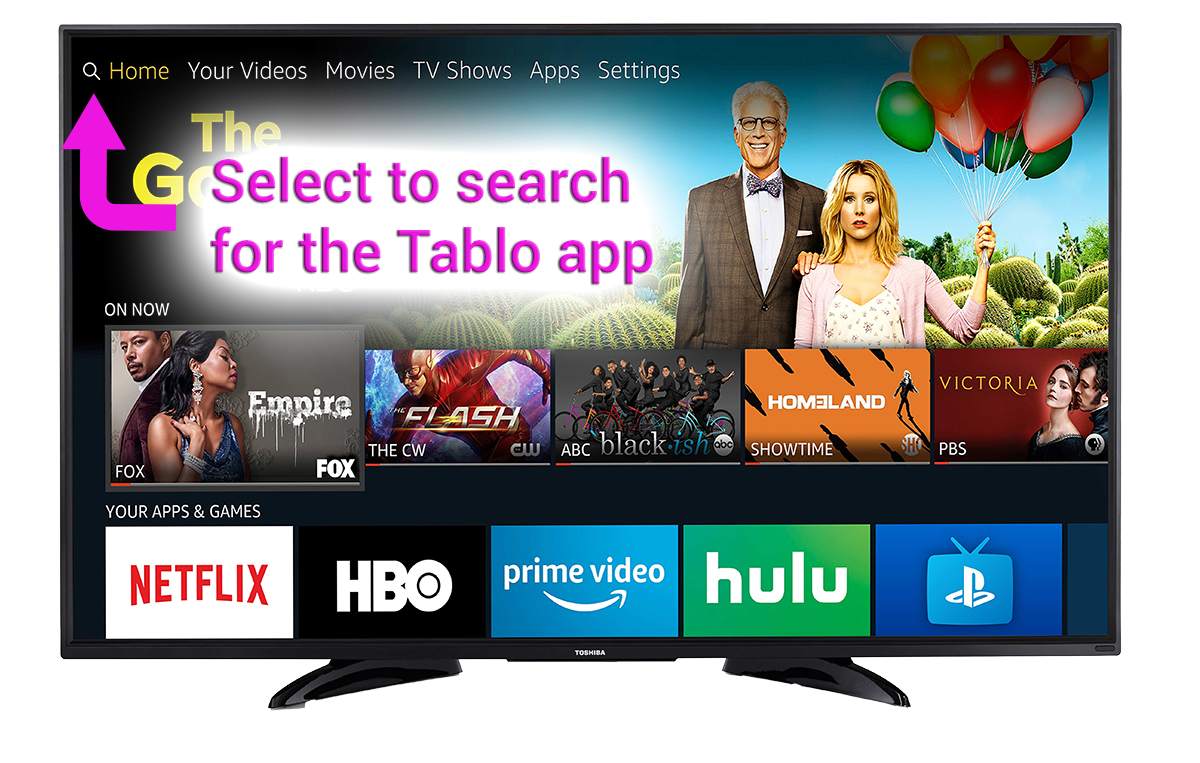 tablo find download app fire tv smart tv