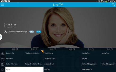 Tablo Android live tv guide
