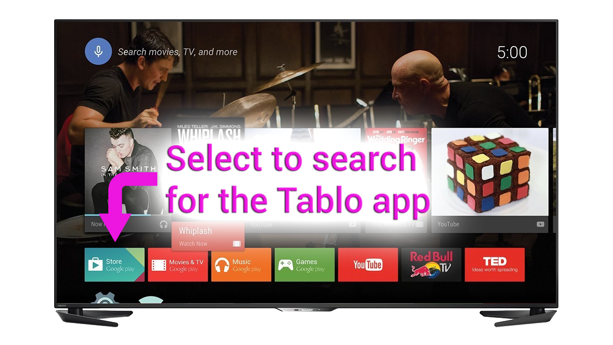find download tablo app android tv smart tv