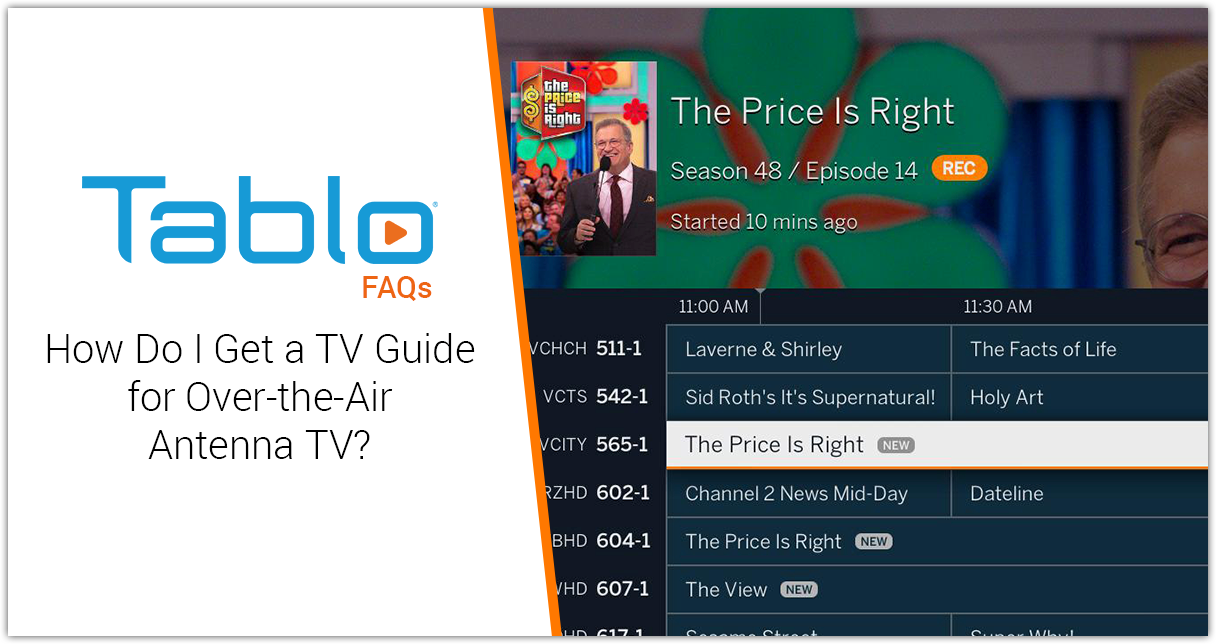 How Do I Get a TV Guide for Over-the-Air Antenna TV