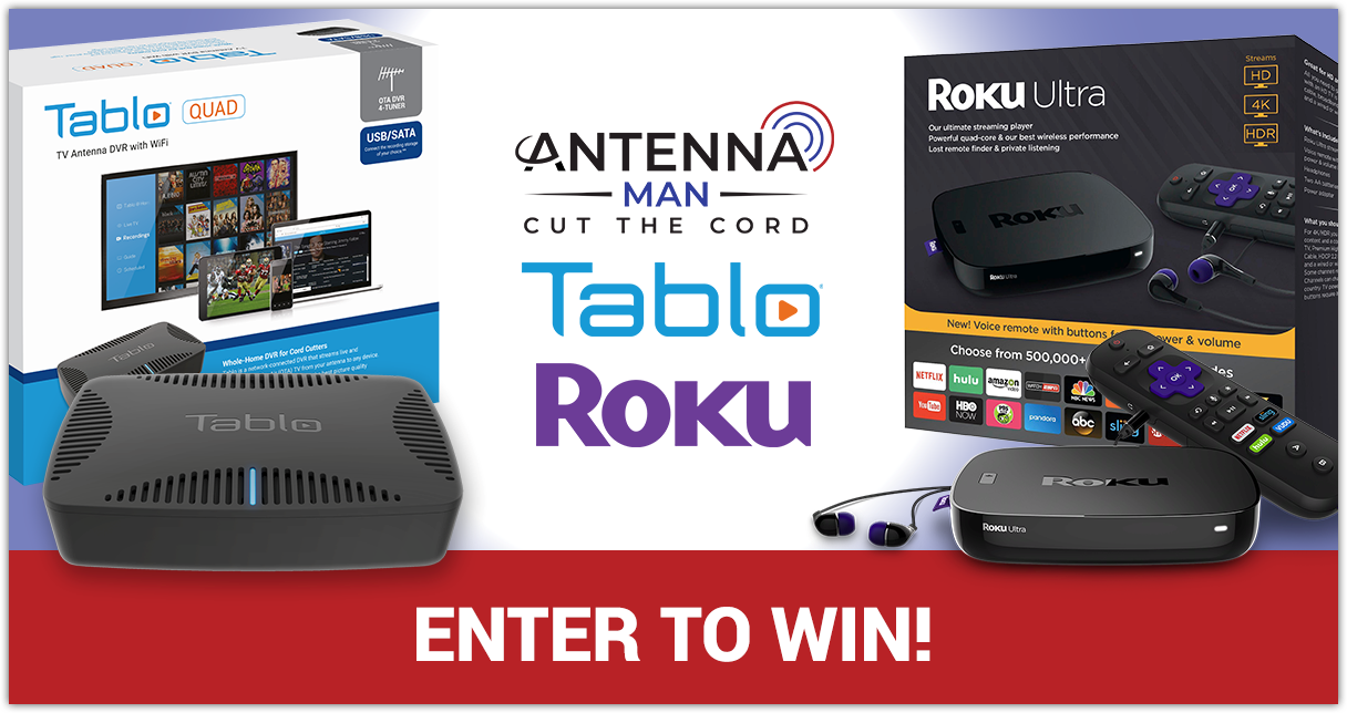 TV Antenna User's Cord Cutting Prize Pack