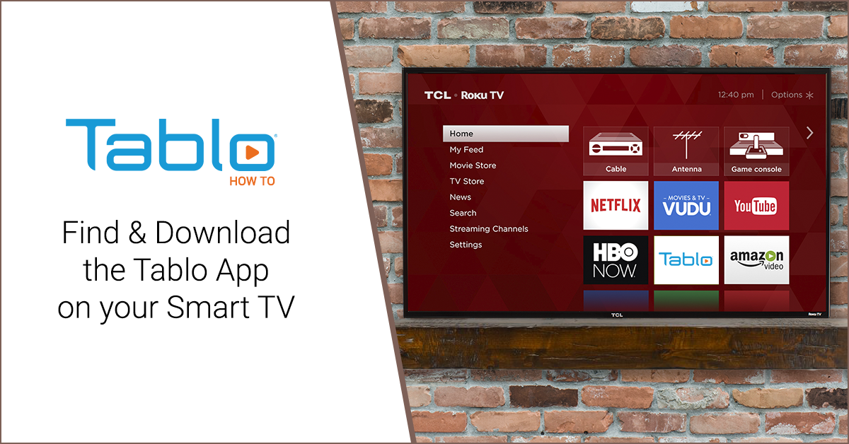 How To Find & Download the Tablo App on your Smart TV | Over