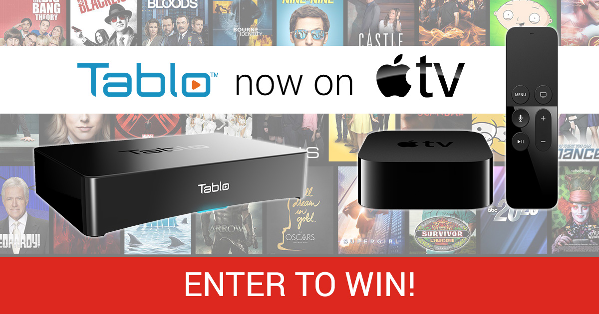 Tablo Apple TV giveaway
