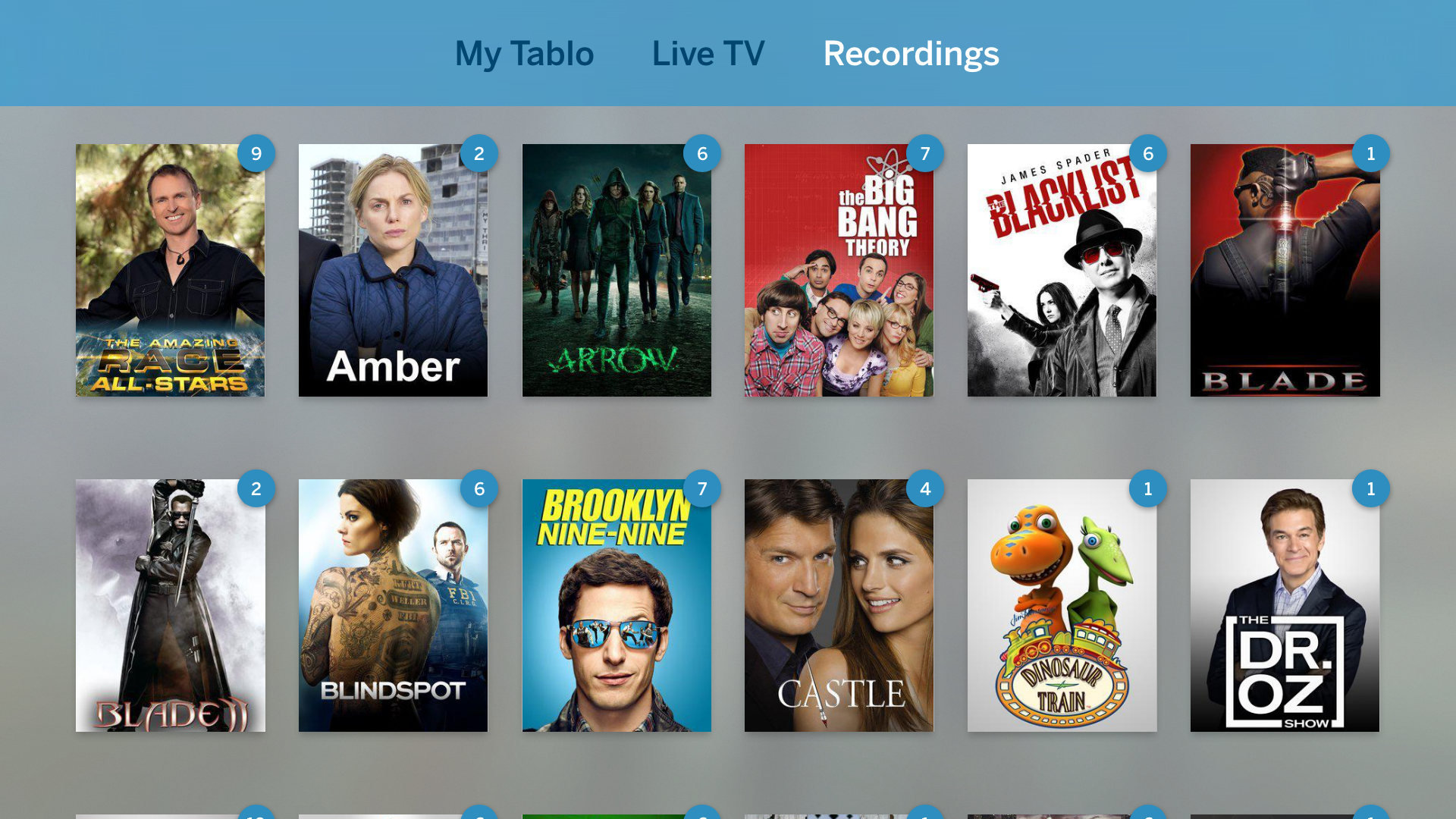 Tablo Apple TV recordings