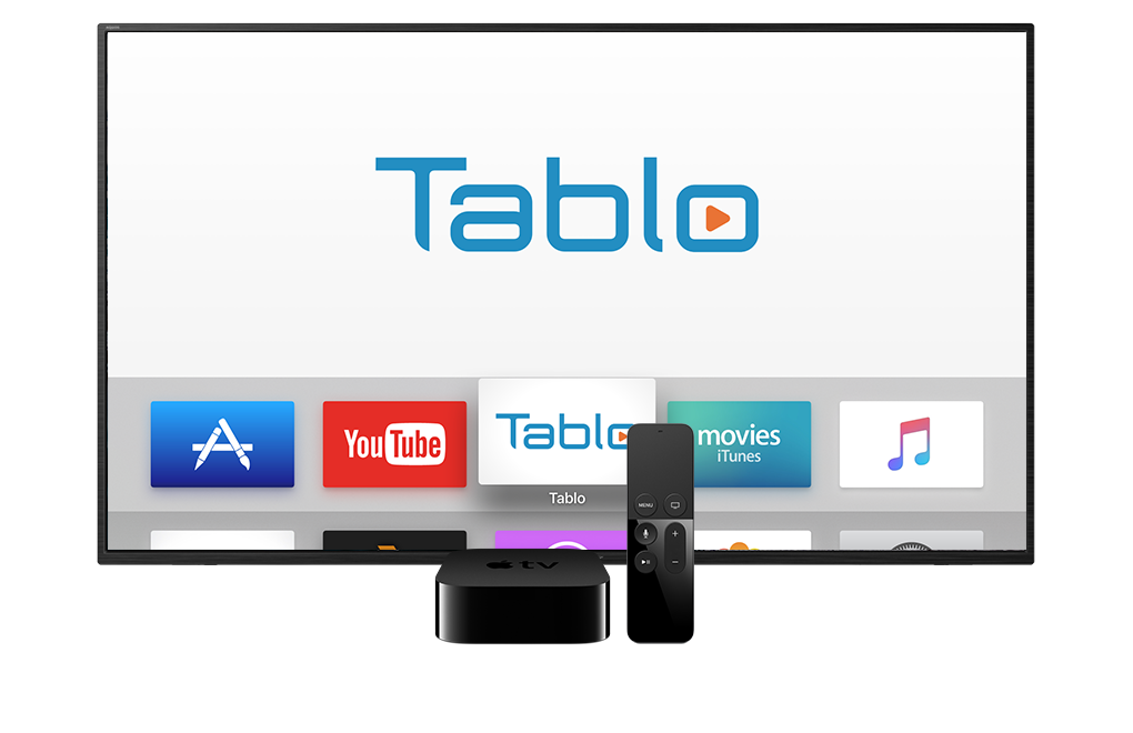 Tablo App for Apple TV 4th Generation and Apple TV 4K | Over The Air