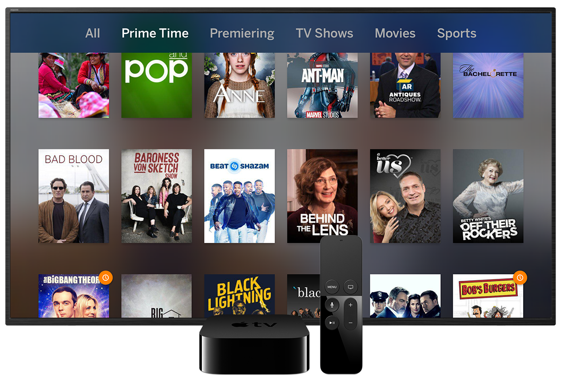 Tablo App for Apple TV 4th Generation and Apple TV 4K   Over