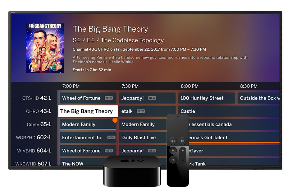 Tablo App for Apple TV 4th Generation and Apple TV 4K | Over