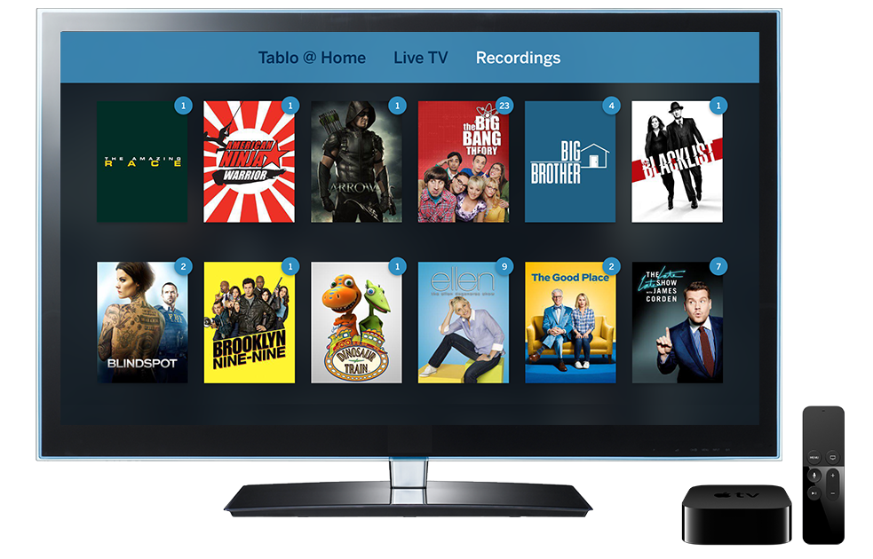 Apple TV Tablo
