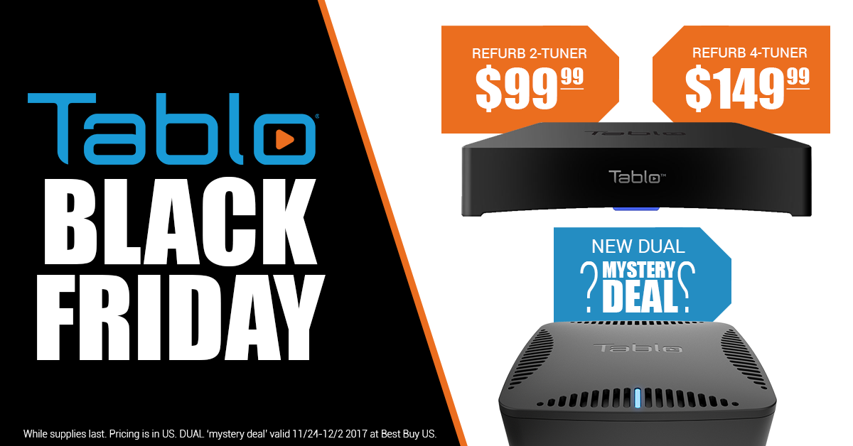 tablo black friday 2017