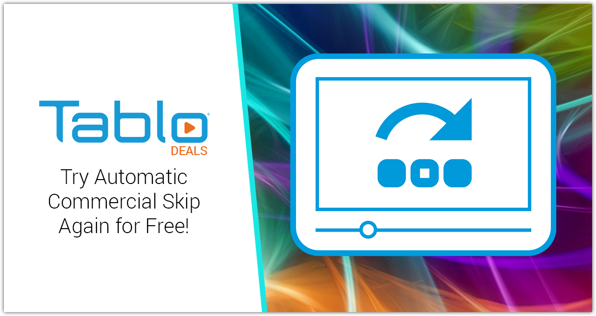 Tablo Commercial Skip Free Trial