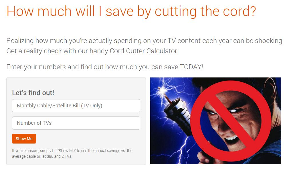 Tablo Cord Cutter Calculator