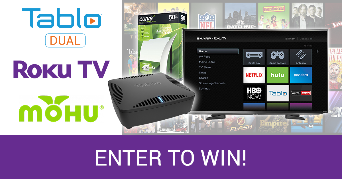 Tablo Roku TV Mohu Giveaway