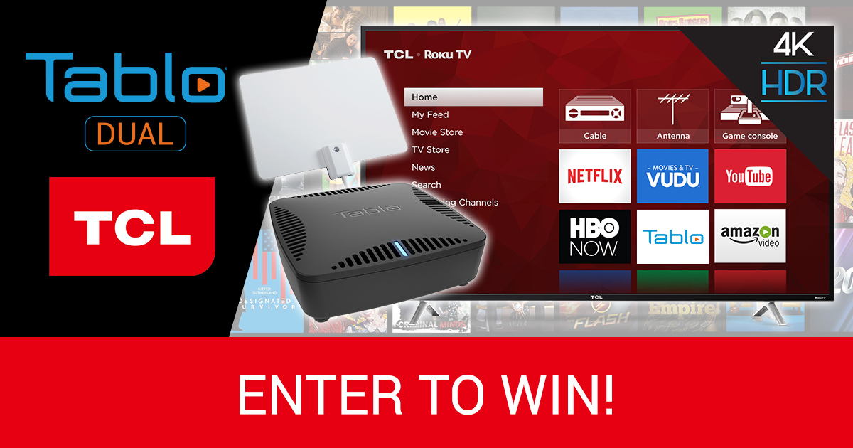 tablo tcl giveaway