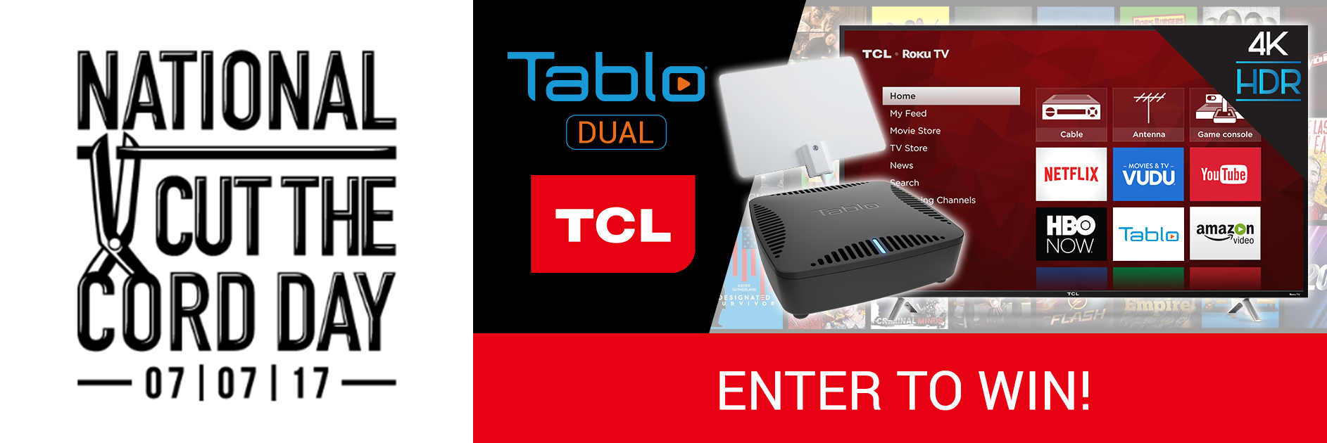 TCL Tablo giveaway