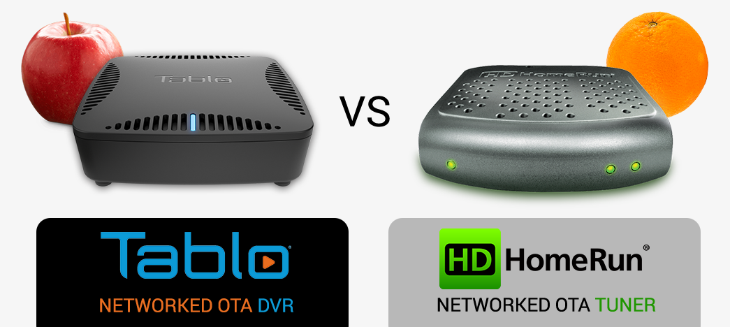 Tablo DUAL vs HDHomeRun