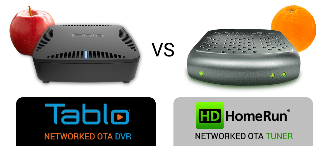 Tablo DUAL OTA DVRs vs  Silicon Dust HDHomeRun Tuners