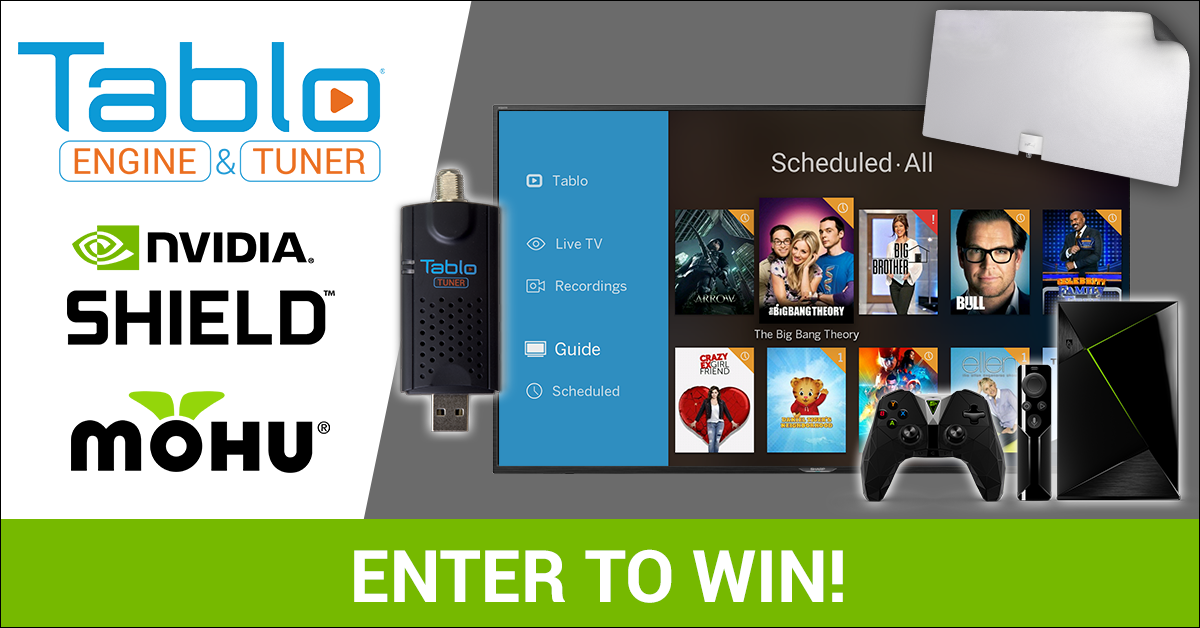 ENTER TO WIN: The Gamer's Cord Cutting Prize Pack from Tablo, NVIDIA