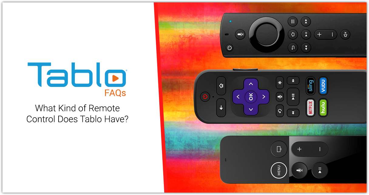 tablo remote control alternatives