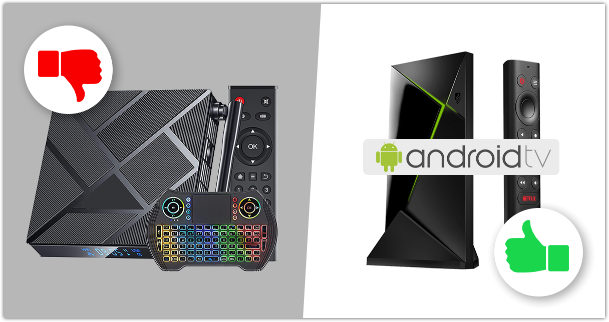 Android Mobile vs Android TV