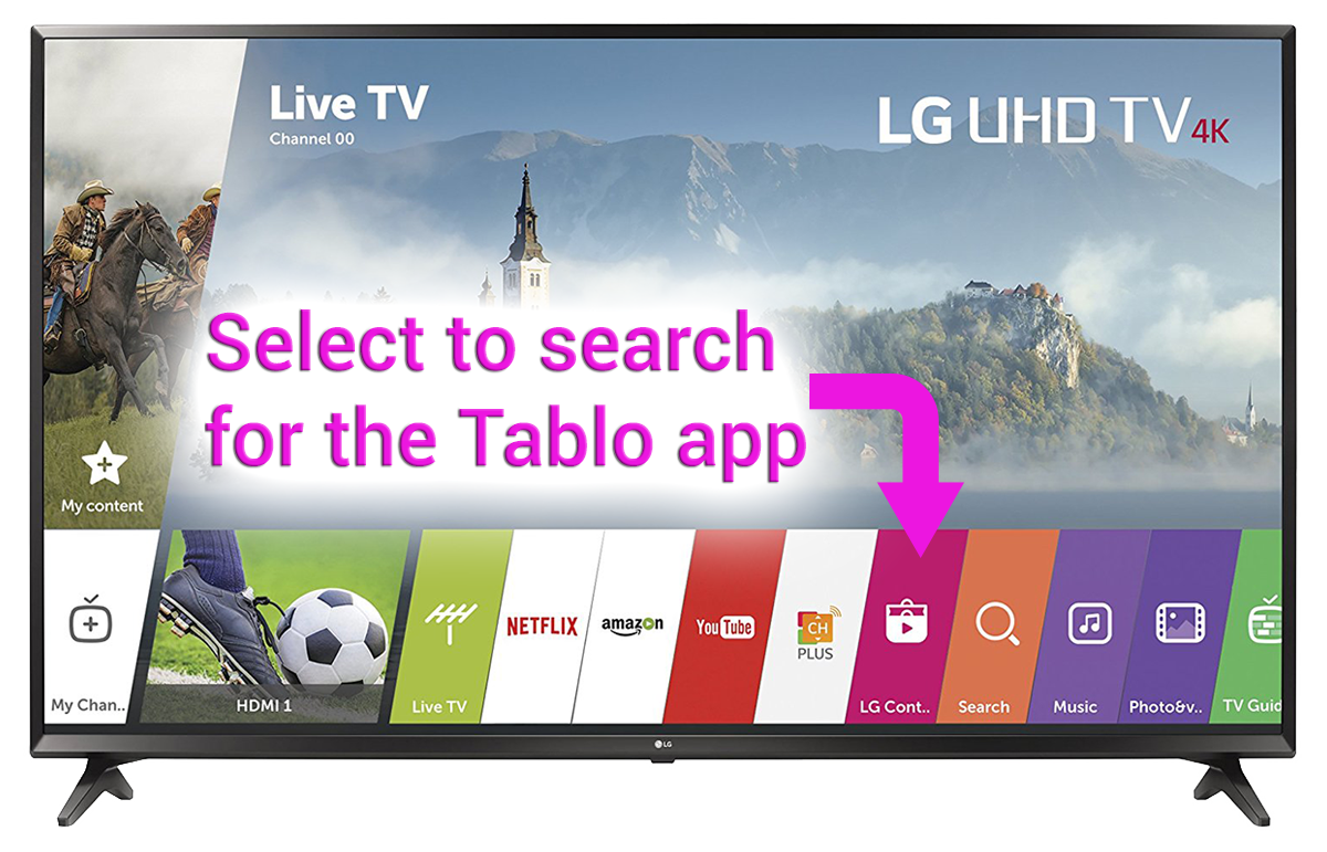 How To Find & Download the Tablo App on your Smart TV | Over The Air