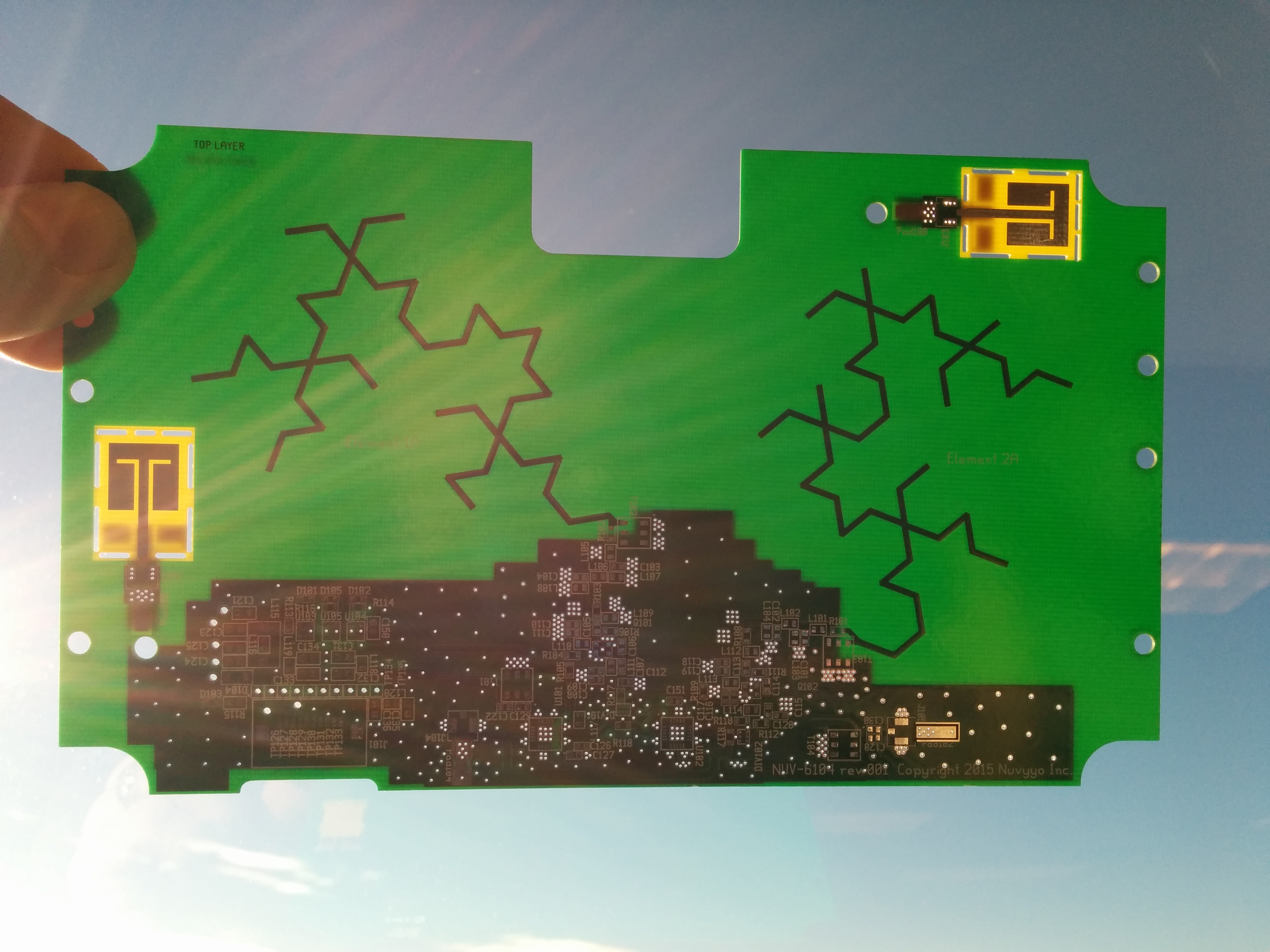 Tablo METRO Fractal Antenna Board