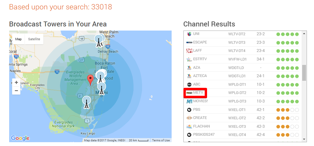 tablo channel locator