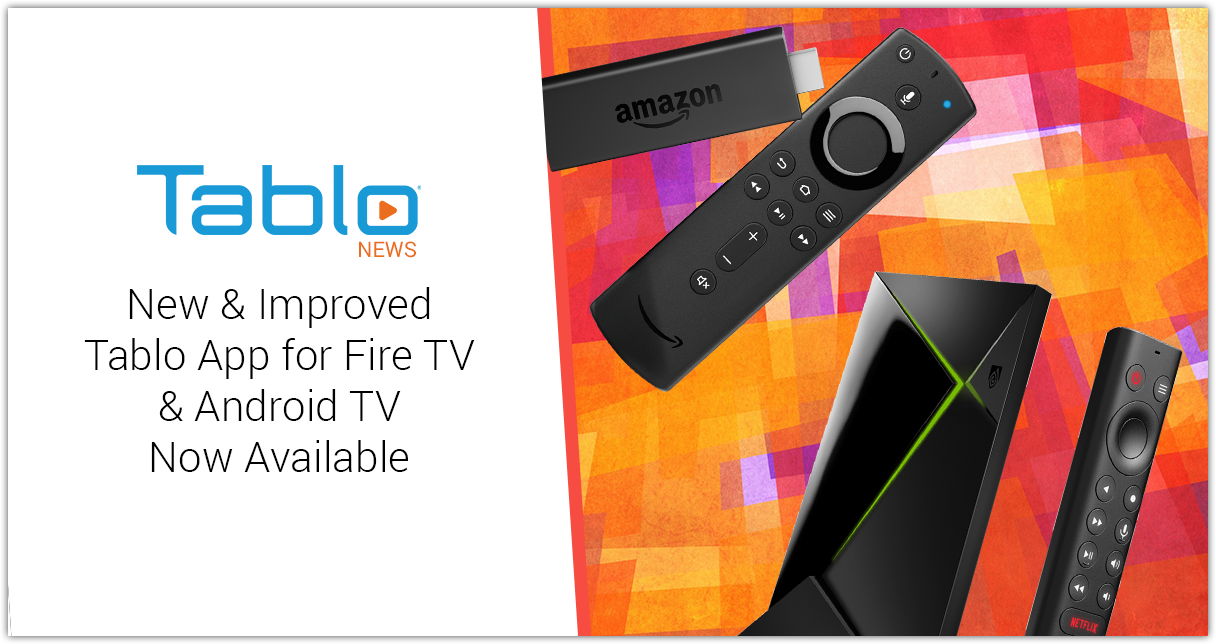 Tablo New App for Fire TV & Android TV