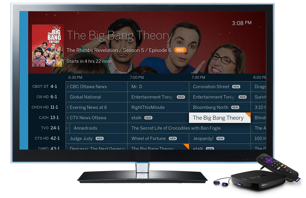 Discover Live TV and DVR shows on your Roku  | Over The Air