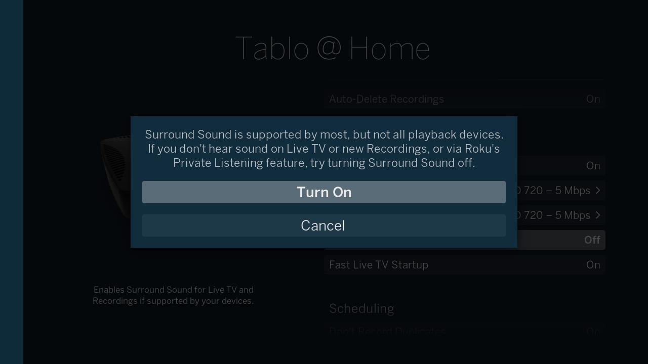 New Feature for Tablo OTA DVRs – 5 1 Surround Sound | Over The Air