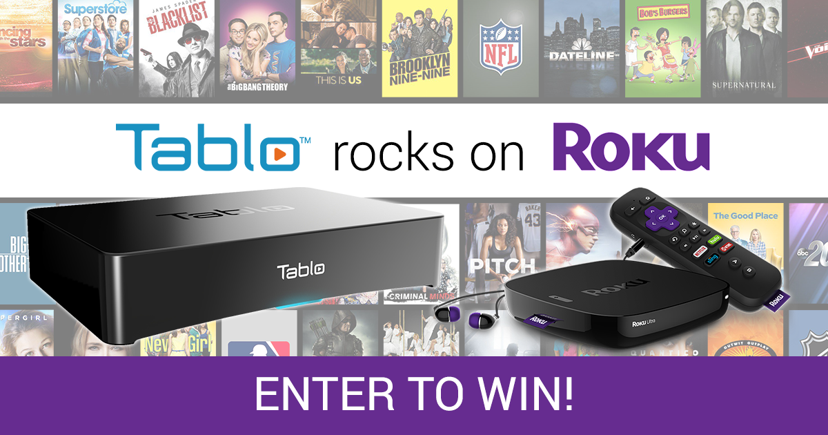 Tablo Roku Ultra Giveaway