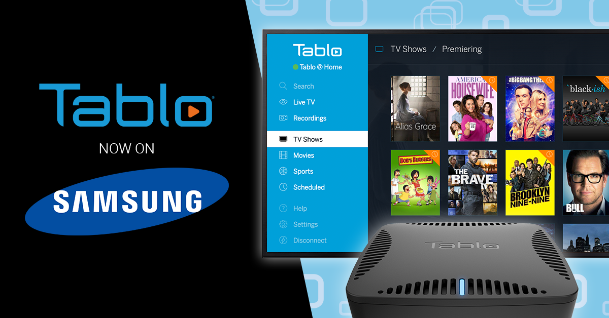 Now Available: Tablo App for Samsung Smart TVs | Over The Air (OTA