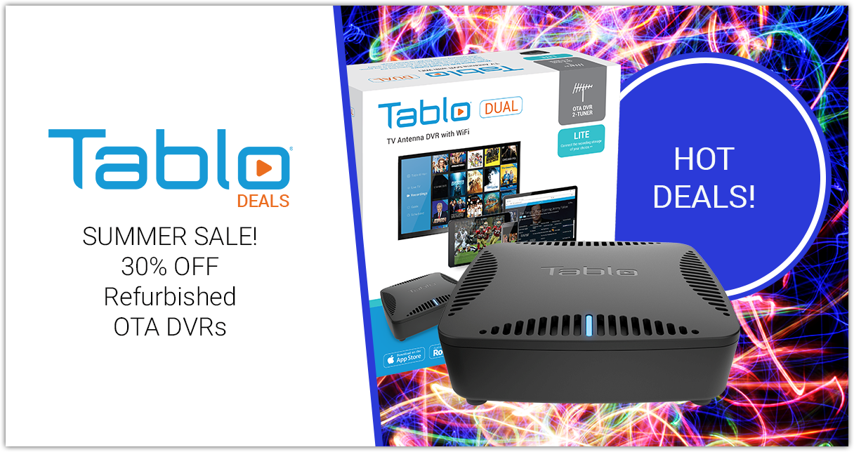 tablo summer refurb sale
